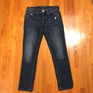 """Express """"Mia"""" Jeans - Mid Rise Cropped Legging"""